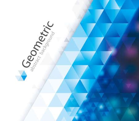 Geometric pattern abstract modern design background.