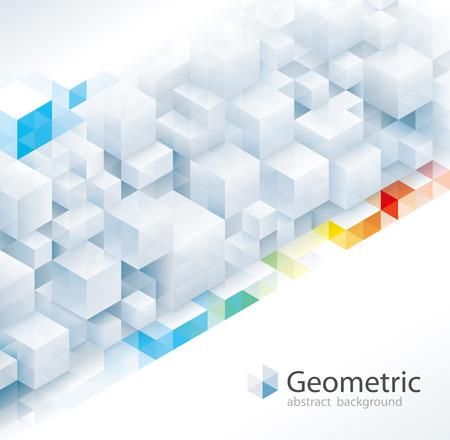Geometric pattern abstract modern urban background. Illustration