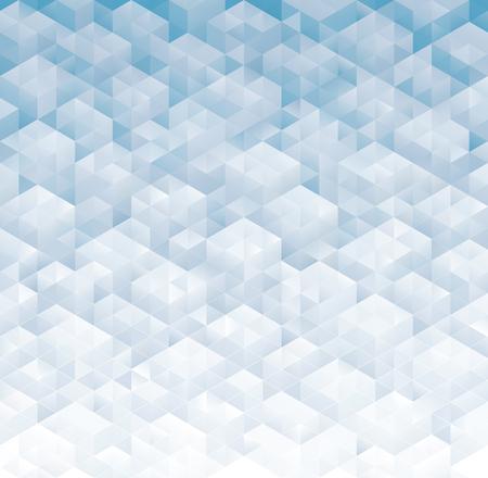 Geometric pattern modern light blue gray background. Illustration