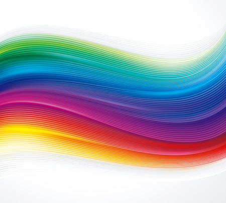 Abstract colorful texture wave background. Illustration