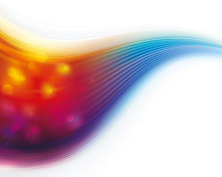 Colorful flowing wave abstract texture background.