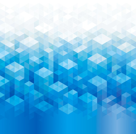 Geometric pattern abstract urban blue background.