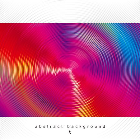 Radiant swirl circular shapes glowing waves abstract background.