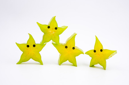 anthropomorphic: Anthropomorphic fruit-Star fruit
