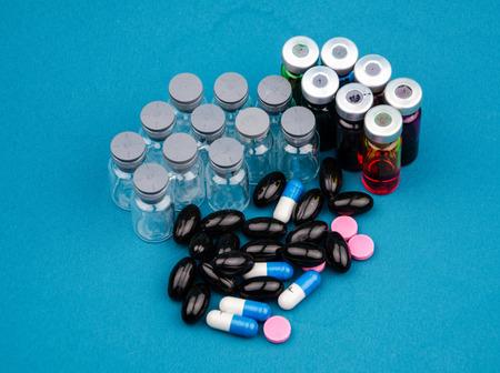 nursing bottle: Drug Stock Photo
