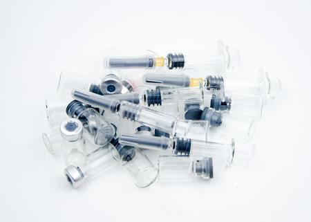 nursing bottle: Syringes and amp bottle