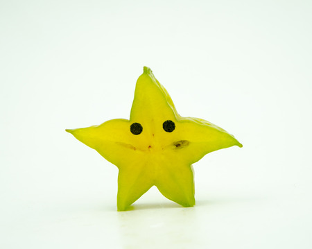 personification: Personification of Carambola Stock Photo