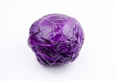 purple wild cabbage