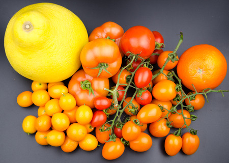 lycopene: fruits and vegetables Stock Photo