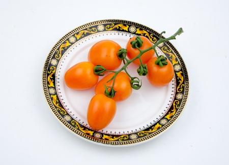 cherry tomatoes: Cherry tomatoes Stock Photo