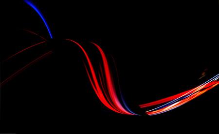 Light twirl effect