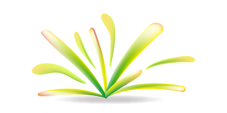 plant shapes vector