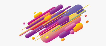 Rhythmic lines Illustration