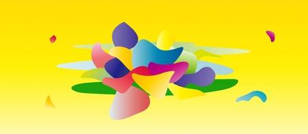 art Geometry background