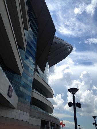 Exhibition center at Hong Kong