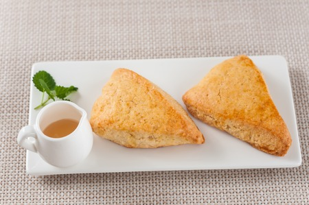 scone: Honey scone Stock Photo