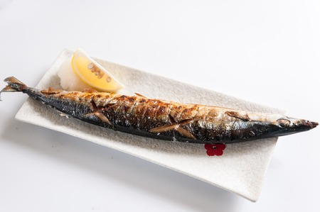 pacific: grilled pacific saury