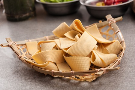 beancurd: Tofu skin