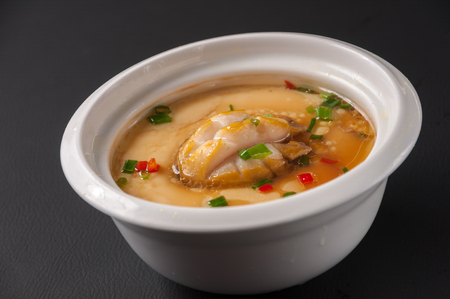 stewed: stewed egg with Abalone