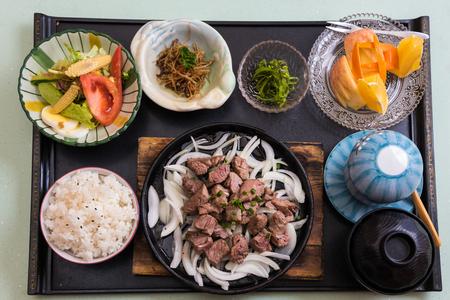 日本の食事 写真素材
