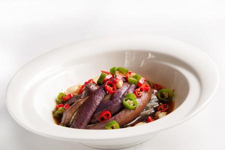 Chinese cuisine-Fish sauce Eggplant