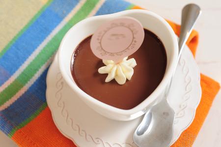 pudding: Chocolate pudding