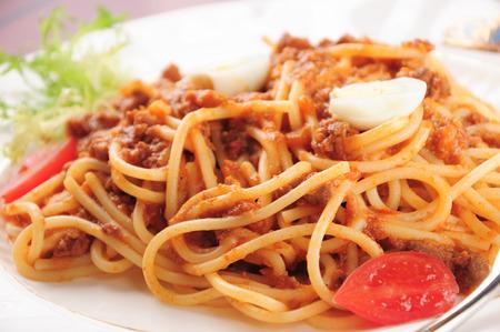 bolognaise: Spaghetti Bolognaise