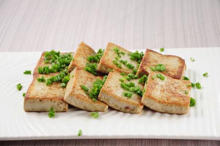 bean curd: Chinese cuisine--Fried bean curd