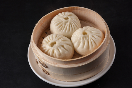 Steamed stuffed bun,steamed pork bun
