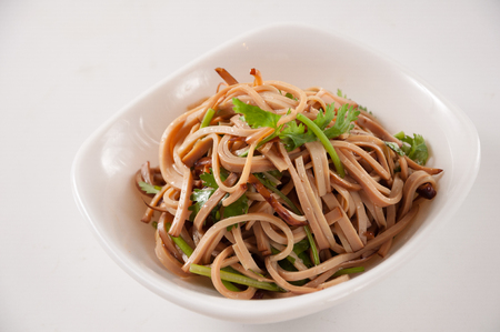 caraway with dried bean curd,chinese cuisine Stock fotó