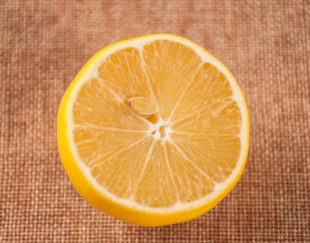 slice of lemon Stock fotó
