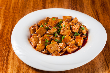 sichuan mapo tofu, chinese food Stock fotó