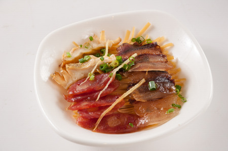 Smoky flavours steamed together,Chinese cuisine Stock fotó