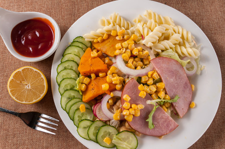 Ham salad Banco de Imagens