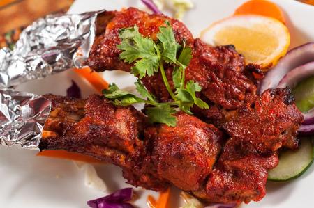 Tandoori Lamb chop,Indian cuisine