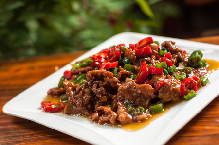 stir-fry beef with pepper,Chinese cuisine