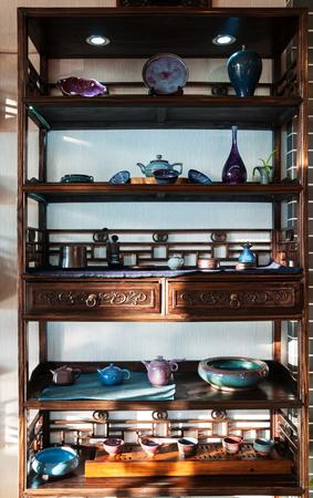 ceramic on the shelf