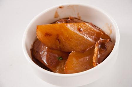 radish in gravy Stock fotó