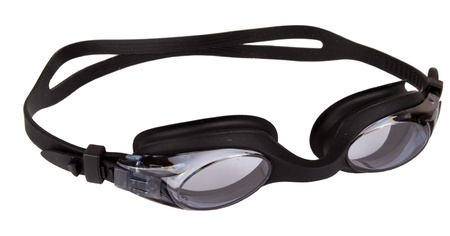 swimming goggles: Swiming glass Stock Photo