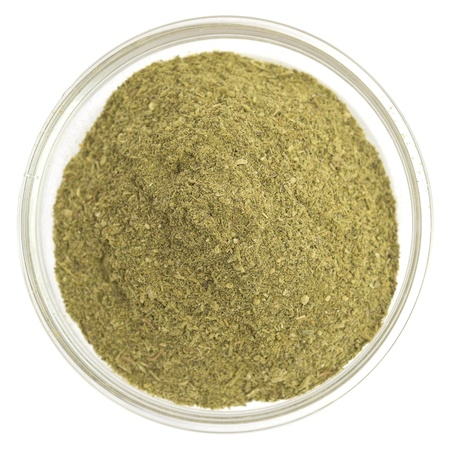 green spice in a glass bowl Stock Photo - 10048255