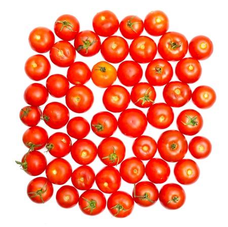 moltitudine: moltitudine di close-up vista pomodori Archivio Fotografico