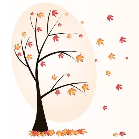 autumn tree Stock Vector - 10826021