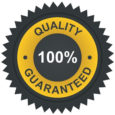 Vector sticker - quality 100% guaranteed  Vector