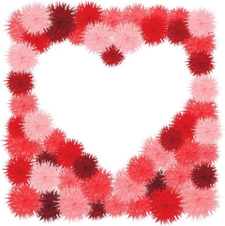 Floral Heart. Beautiful vector illustration Stock Vector - 11368329