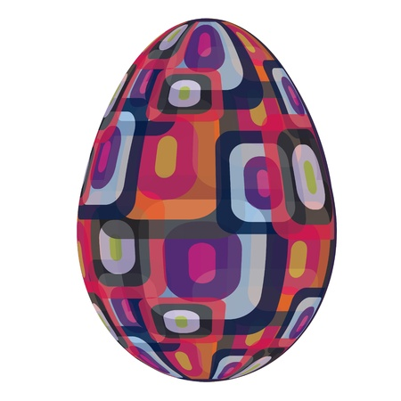 fine painted egg designed for Easter Stock Vector - 12303102