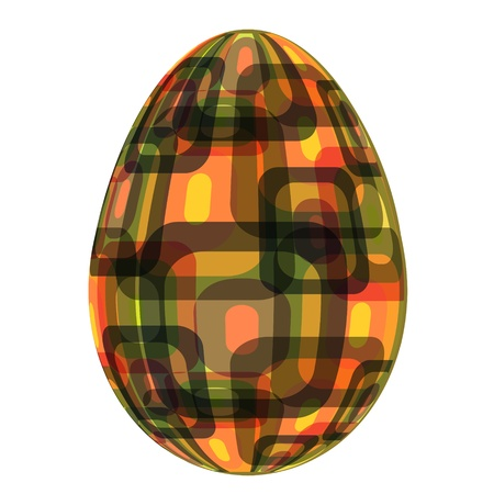 fine painted egg designed for Easter Stock Vector - 12303096
