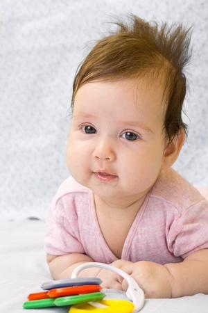 Sweet baby girl Stock Photo - 12303210