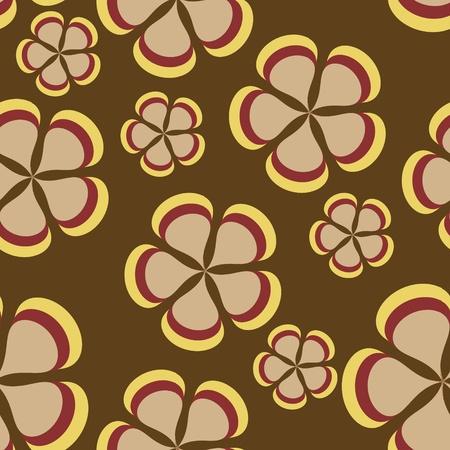 flower pattern background seamless Stock Vector - 12303290