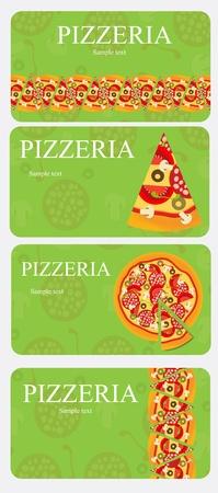 Pizza Menu Template, vector illustration Vector