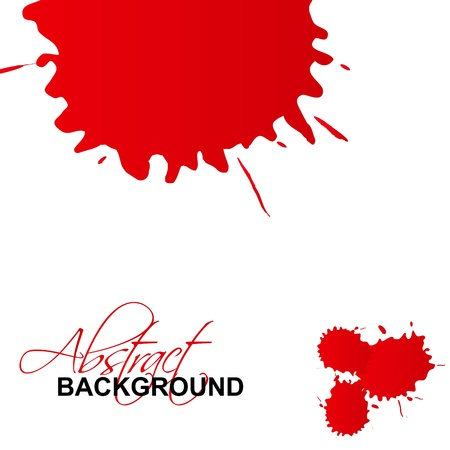 Vector splash abstract background